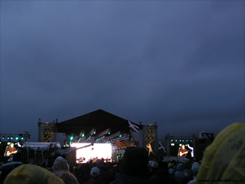 Runrig on stage