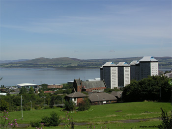 View from Whinhill, Greenock