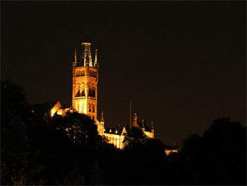 Dracula's Castle... erm... University of Glasgow